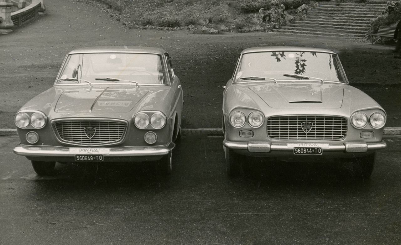 Lancia Flaminia 3C GT vs. Lancia Flavia Coupe