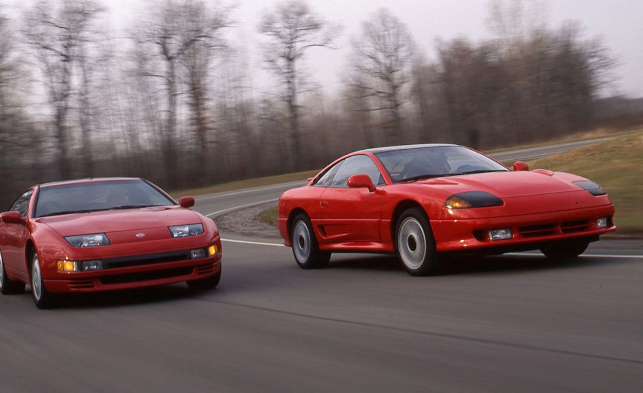 Nissan 300ZX Turbo vs. Dodge Stealth R/T Turbo – Archived ...