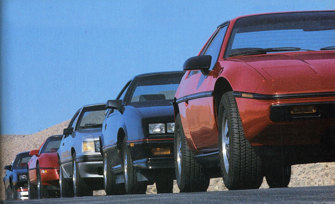 Camaro Z28 vs. Corvette, Daytona Turbo Z, Mustang SVO, Fiero 2M4: The Best Handling American Car Is...