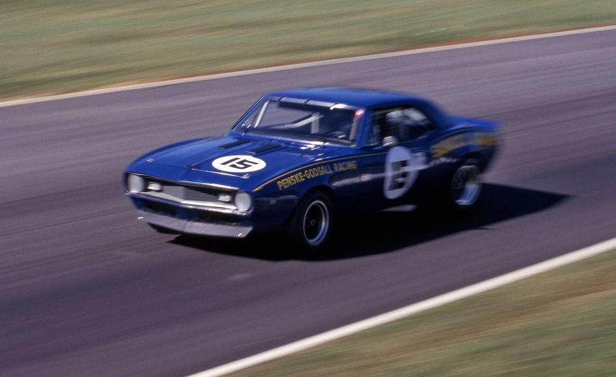 The Lightweight Camaro: 1967 Donohue Trans-Am Camaro Archived Test ...