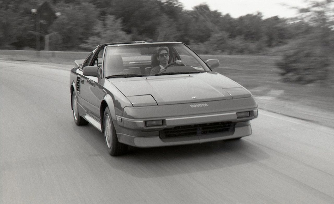 Toyota MR2 Supercharged Archived Test  Review  Car and Driver