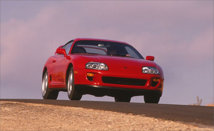 Toyota supra turbo instrumented test car and driver toyota supra turbo sciox Gallery