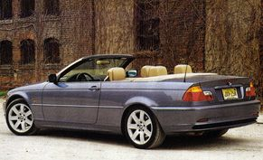 BMW Ci Convertible Road Test Reviews Car And Driver - Bmw 323i convertible for sale