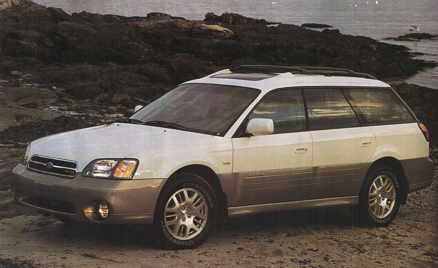2001 subaru outback h6 3 0 first drive review reviews car and driver. Black Bedroom Furniture Sets. Home Design Ideas