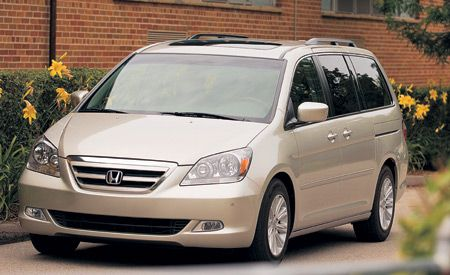 2006 Honda Odyssey Touring  Short Take Road Test  Reviews  Car
