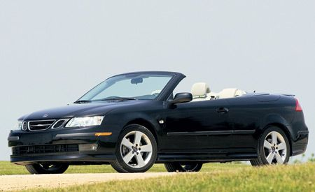 2006 saab 9 3 aero convertible. Black Bedroom Furniture Sets. Home Design Ideas