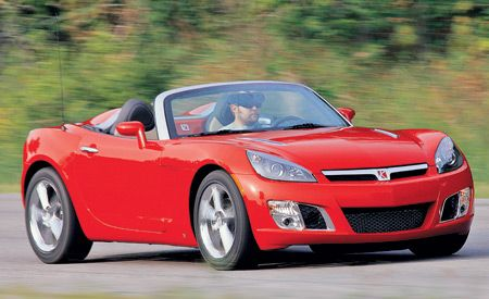 2007 saturn sky red line. Black Bedroom Furniture Sets. Home Design Ideas