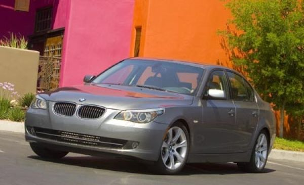 2008 BMW 5series  First Drive Review  Reviews  Car and Driver
