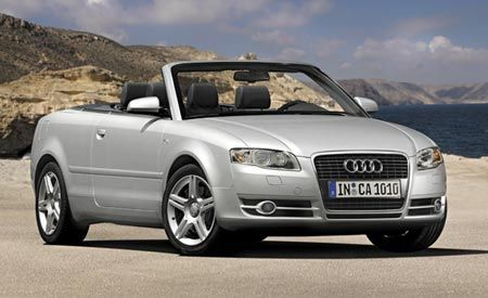 2007 audi a4 convertible top problems