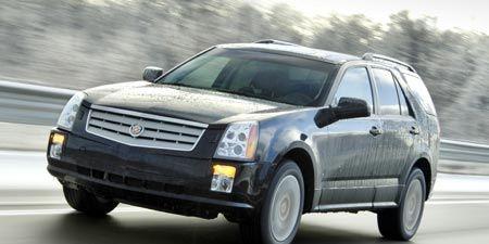 2007 Cadillac Srx V 6 Awd