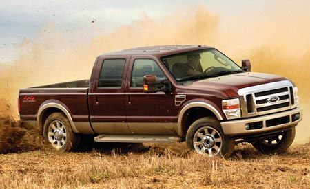2008 ford f-150 and f-250, f-350, and f-450 super duty