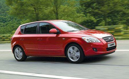 2008 Kia Cee'd 1.6LS