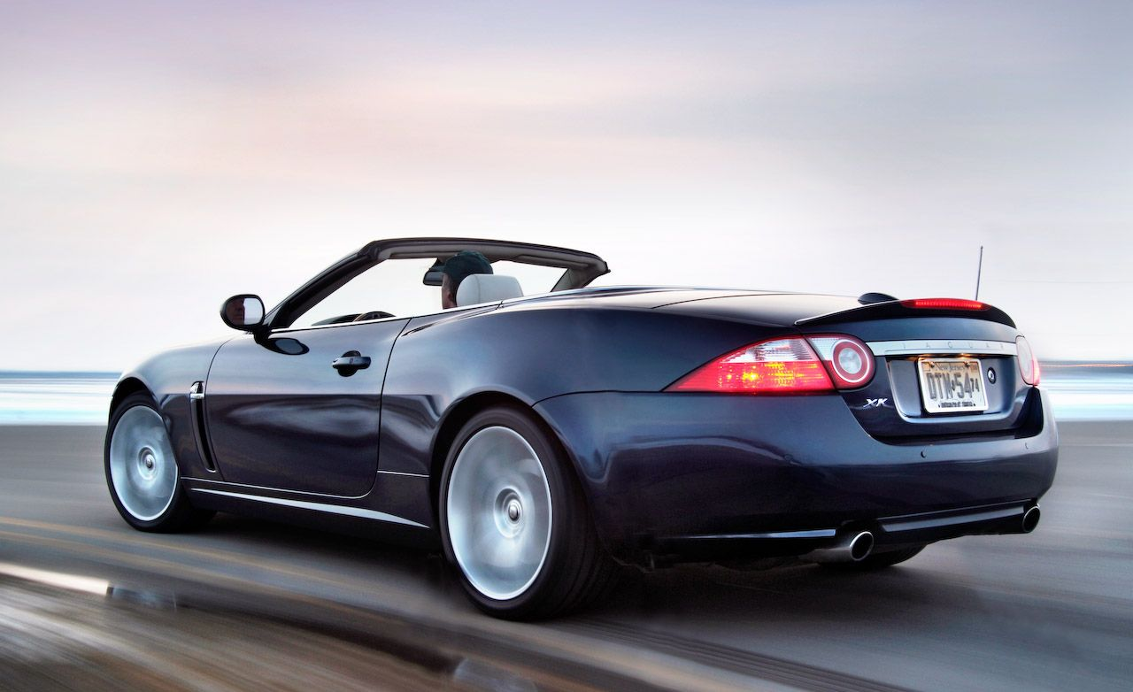2007 jaguar xk reviews