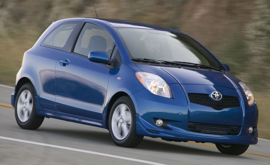 2008 toyota yaris review reviews car and driver. Black Bedroom Furniture Sets. Home Design Ideas