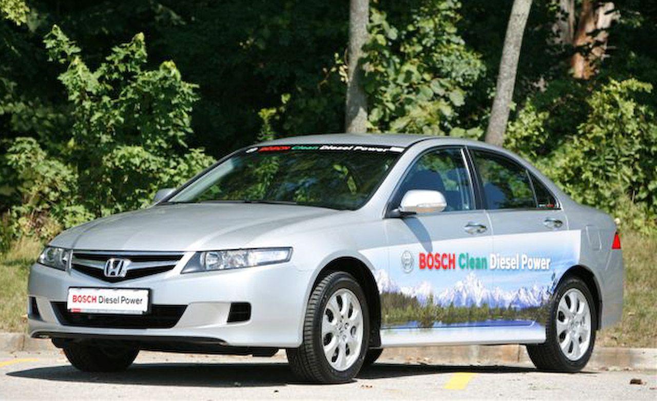 2007 Honda Accord Ictdi Diesel Short Take Road Test Reviews