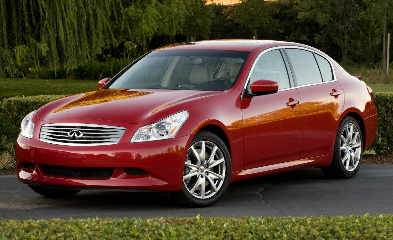 2009 infiniti g37 sedan and coupe review car and driver blog 2009 infiniti g37 sport vanachro Choice Image