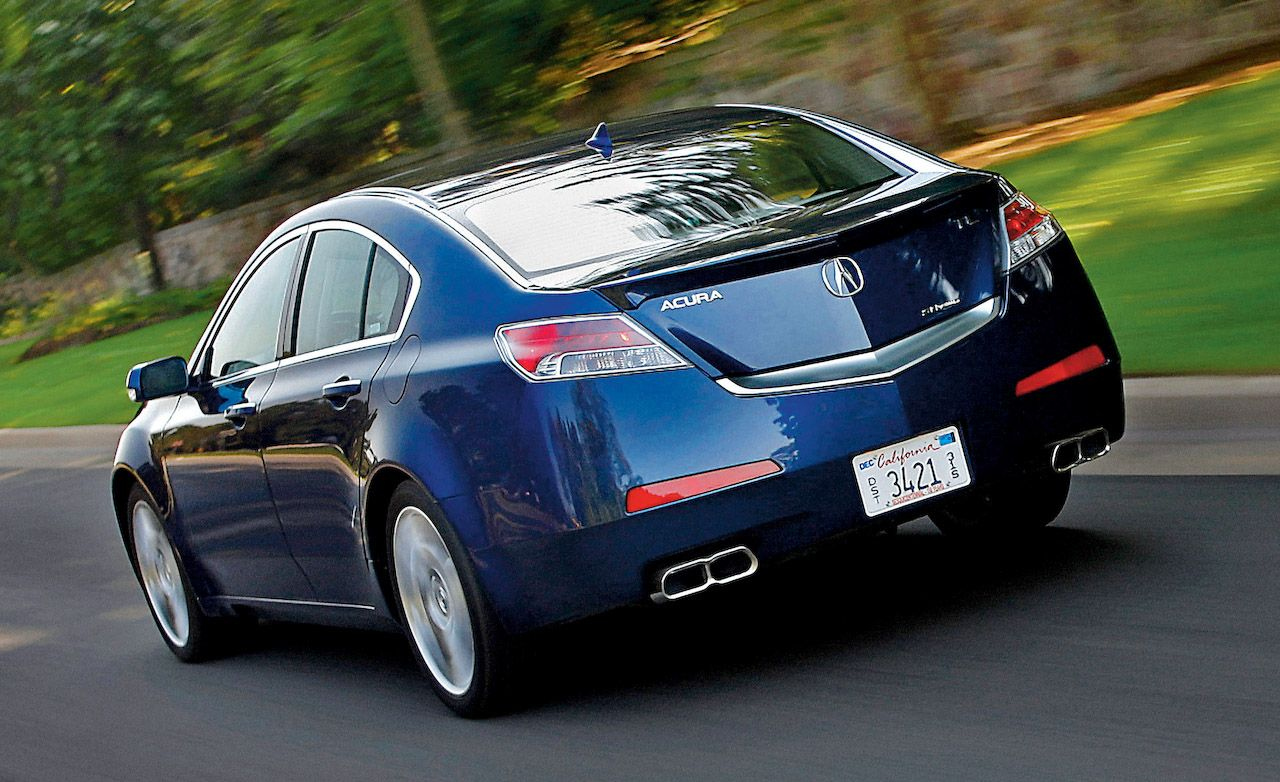 2009 Acura TL SHAWD  Road Test  Reviews  Car and Driver