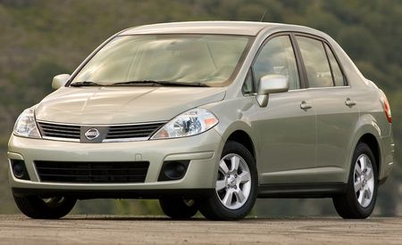 2009 Nissan Versa Sedan and Hatchback