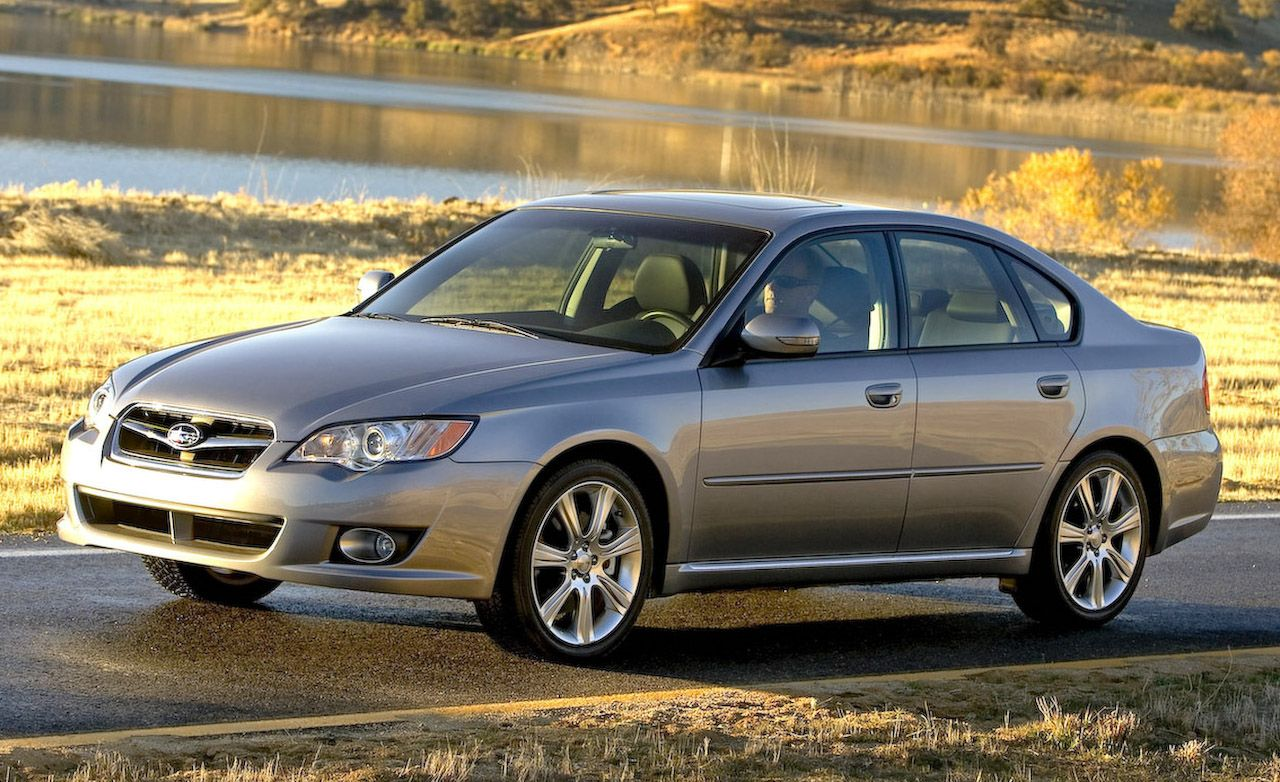 Subaru legacy reviews subaru legacy price photos and specs 2009 subaru legacy sedan and outback wagon vanachro Images