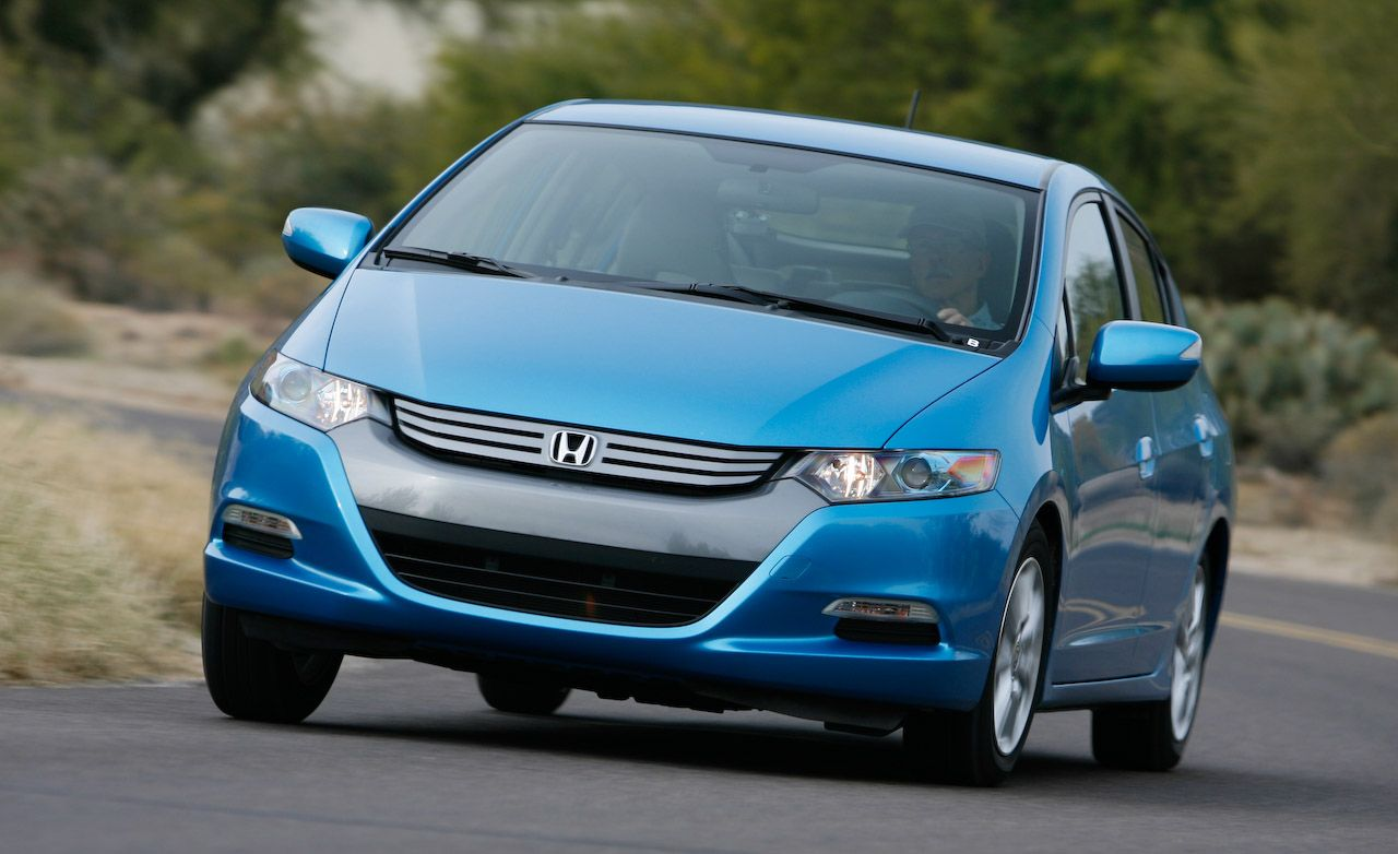 honda insight hybrid manual transmission