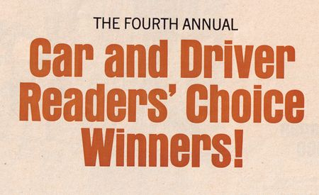 1967 Readers' Choice Winners