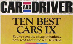 1991 10Best Cars