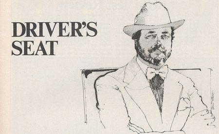 David E. Davis Jr.: Driver's Seat, April 1980