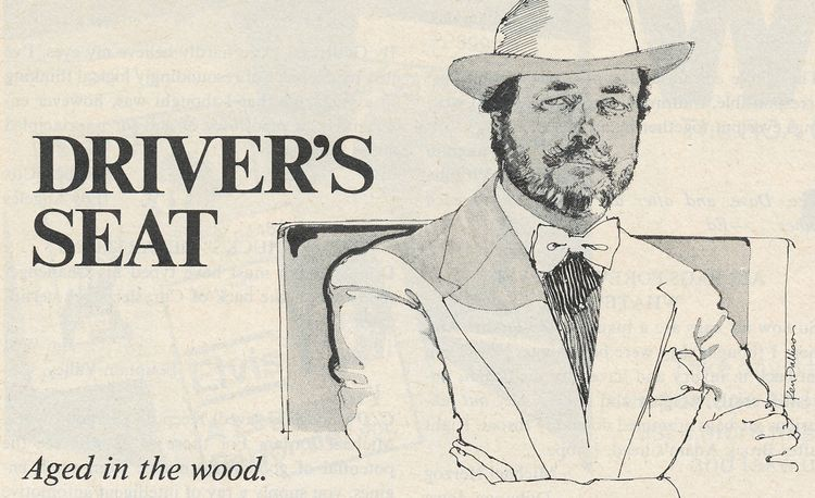 David E. Davis Jr.: Driver's Seat, February 1978