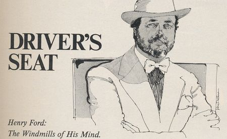 David E. Davis Jr.: Driver's Seat, June 1978