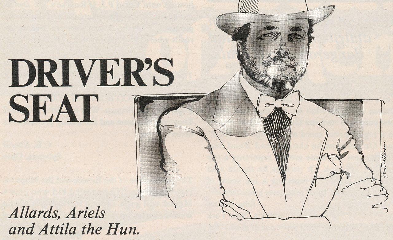David E. Davis Jr.: Driver's Seat, May 1978