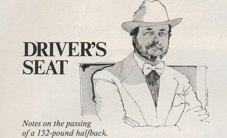 David E. Davis Jr.: Driver's Seat, October 1978