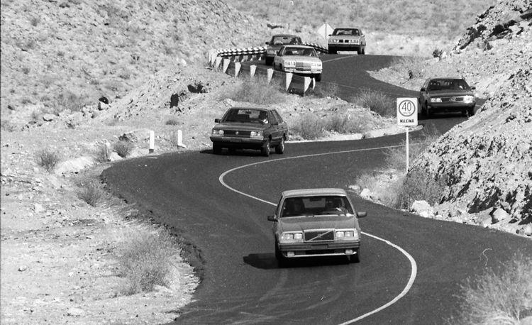 Escape From Baja: Mexican Torture Test of Audi 5000S, Datsun Maxima, Dodge 600ES, Pontiac 6000STE, Saab 900 Turbo, Toyota Cressida, VW Quantum, Volvo 760GLE