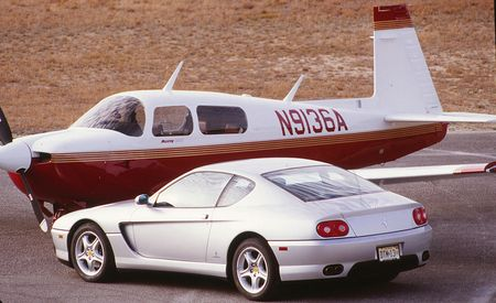 Fear of Flying: Ferrari vs. Plane, The Sequel