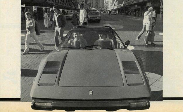Ferrari Reinvents Manifest Destiny: P.J. O'Rourke and a Ferrari 308GTS