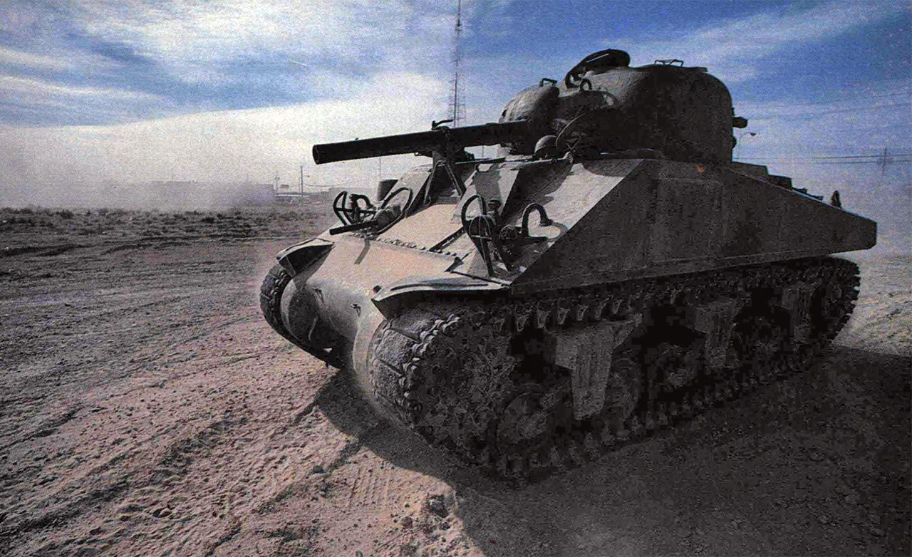 My Tank: Driving the Sherman M-4A3