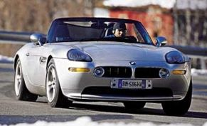 BMW Z8, Cadillac Catera, and the Winston Cup