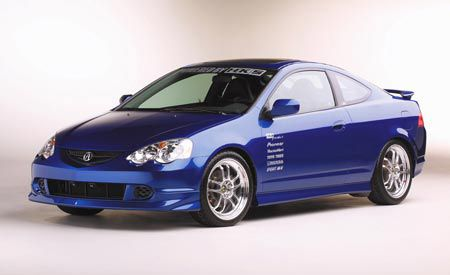 HKS Turbocharged Acura RSX TypeS - Acura rsx type s turbo for sale