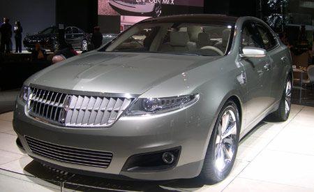 2008 Lincoln MKS Concept