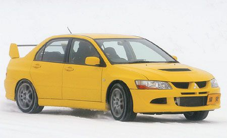 2008 Mitsubishi Evolution X