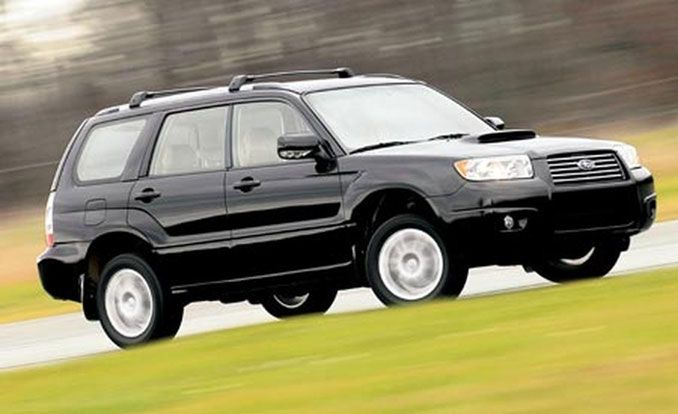2007 subaru forester 2.5 xt limited