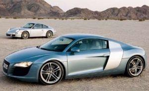 2008 Audi R8 vs. 2007 Porsche 911 Carrera S