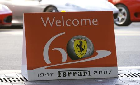 Ferrari 60th Anniversary Parade