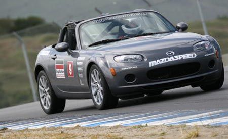Skip Barber Mazda MX Cup Racing School Feature Features - Mazda racing series