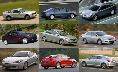 The Quickest Cars of 2007: Less Than $20,000