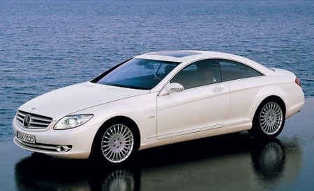 2007 Mercedes-Benz CL550 and CL600