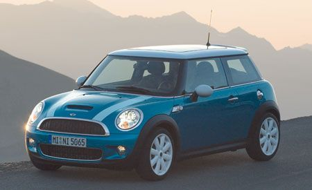 2007 Mini Cooper and Mini Cooper S Unveiled