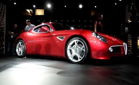 2009 Alfa Romeo 8C Competizione