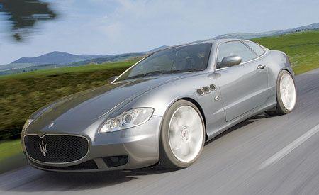 2009 Maserati Quattroporte Coupe