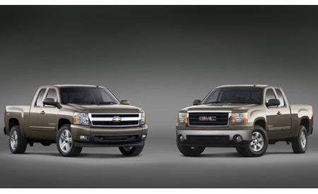 All-new 2007 Chevrolet Silverado and GMC Sierra