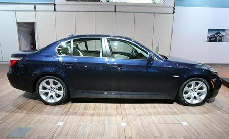 2008 BMW 528i, 535i, and 550i